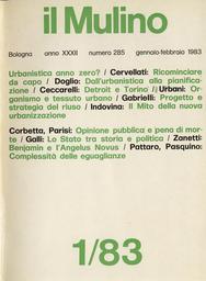 Copertina del fascicolo dell'articolo Per un progetto e una strategia del riuso