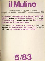 Copertina del fascicolo dell'articolo Interdipendenza e spostamenti di confini tra
