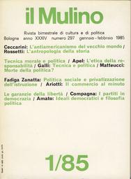Copertina del fascicolo dell'articolo L'etica della responsabilità nell'era della scienza