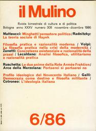 Copertina del fascicolo dell'articolo Le due