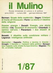 Copertina del fascicolo dell'articolo La dialettica del sopravvissuto. Politica e tecnica in Baltasar Gracián