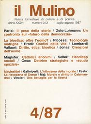 Copertina del fascicolo dell'articolo La riscoperta di Dorso