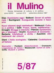 Copertina del fascicolo dell'articolo Cultura