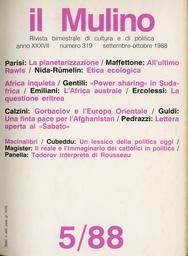 Copertina del fascicolo dell'articolo Etica sociologica
