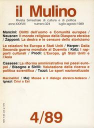 Copertina del fascicolo dell'articolo Italia, Europa e Stati Uniti dalla Seconda guerra mondiale al Duemila