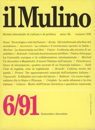 Copertina del fascicolo dell'articolo Un dicembre a Maastricht. Il nuovo Trattato dell'Unione
