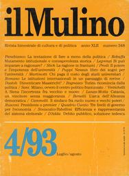 Copertina del fascicolo dell'articolo Mutamento istituzionale e consapevolezza storica