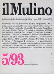 Copertina del fascicolo dell'articolo Sindacati rappresentativi o rappresentanza frantumata