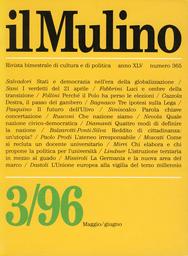 Copertina del fascicolo dell'articolo Chi elabora, e chi propone, la politica per l'università