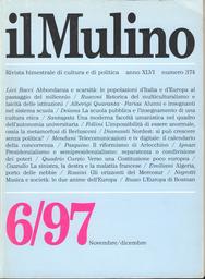 Copertina del fascicolo dell'articolo L'impossibilità di essere anormale. Sulla metamorfosi di Berlusconi
