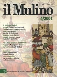 Copertina del fascicolo dell'articolo I molti volti del Sud. Fra imprenditorialità diffusa, azione pubblica e società locale