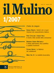 Copertina del fascicolo dell'articolo Brogli immaginari e sindrome della cospirazione
