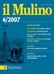 Copertina del fascicolo dell'articolo Francia, Italia e