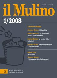 Copertina del fascicolo dell'articolo La costruzione politica del risentimento