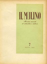 Copertina del fascicolo dell'articolo Attilio Momigliano