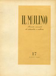 Copertina del fascicolo dell'articolo Letteratura vittoriniana e comunismo