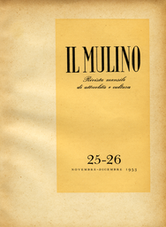 Copertina del fascicolo dell'articolo Sul