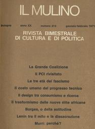 Copertina del fascicolo dell'articolo Lenin tra il mito e la dissacrazione: il bilancio storiografico di un centenario