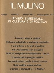 Copertina del fascicolo dell'articolo Fascismo e no nella redazione del codice di procedura