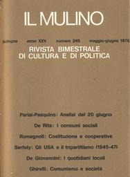 Copertina del fascicolo dell'articolo Costituzione economica e cooperative di lavoro