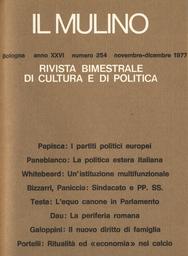 Copertina del fascicolo dell'articolo Il sindacato e la riorganizzazione delle Partecipazioni Statali